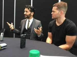 Cas Anvar Wes Chatham from The Expanse