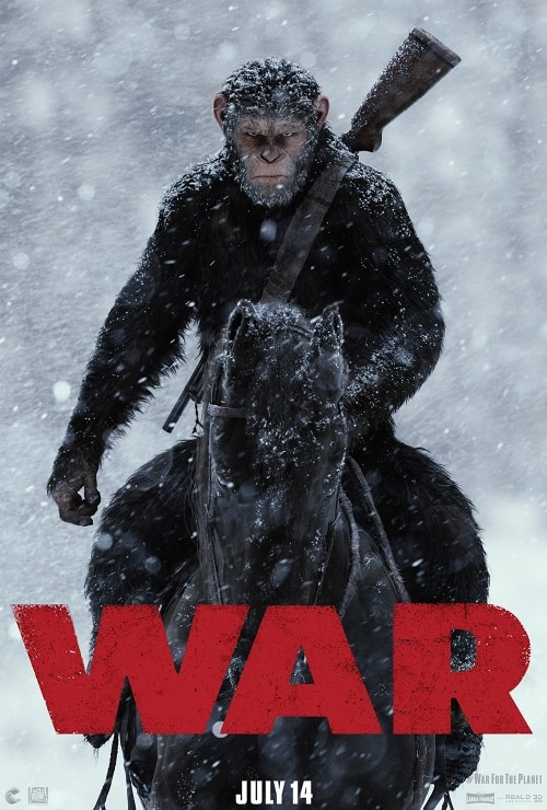 War of Planet of the Apes