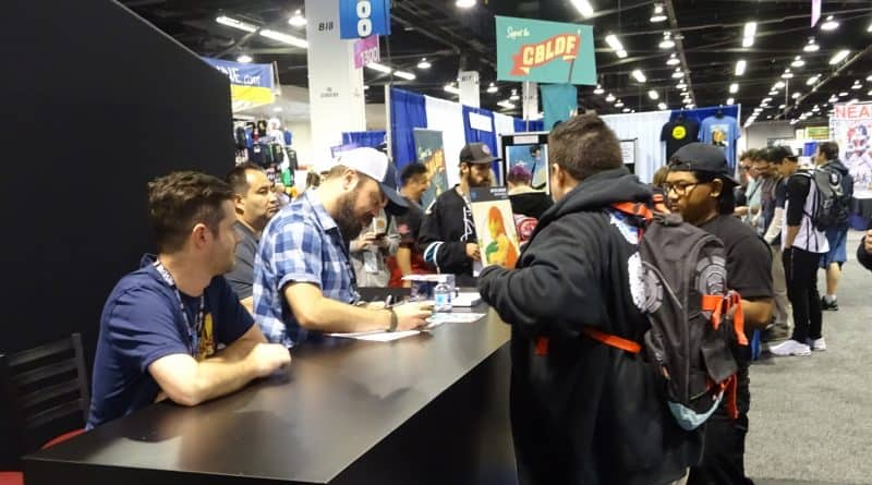 SDCC 2018: Online Exclusives and Autograph Lotteries