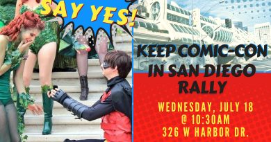 Keep SDCC in San Diego Rally