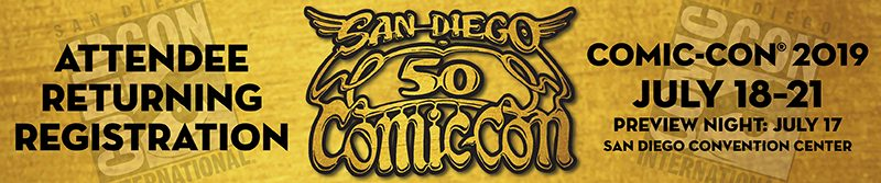 50th SDCC Sells Out Fast in Returning Registration