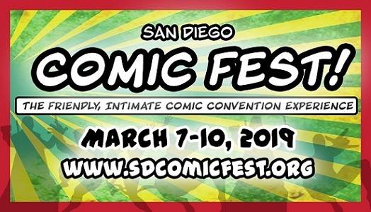 San Diego Comic Fest Preview