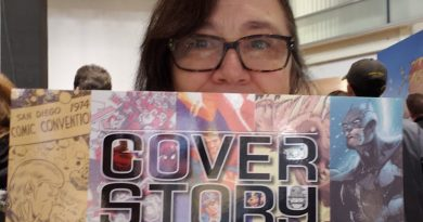 Cover Art SDCC, Comic Con Museum