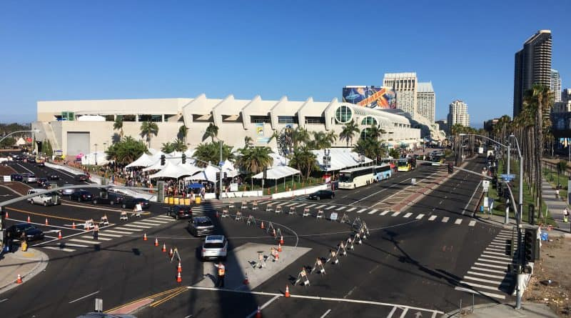 SDCC 2019 Pedestrian-Only Road Closures