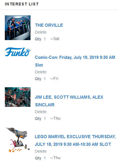 Sdcc 2020 Exclusives List.Sdcc 2019 Exclusives Lotteries