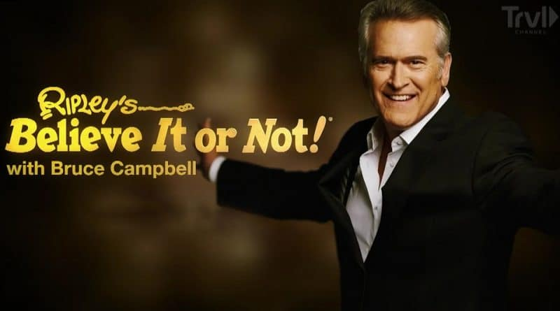 Bruce Campbell Hosts Ripleys Believe It or Not