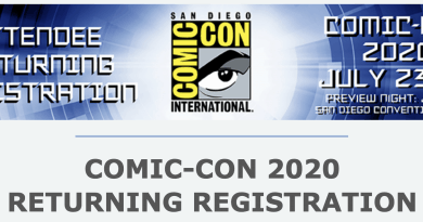 SDCC 2020 Returning Registration Gets Fans Excited